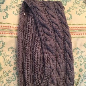 Accessories - Women's Cable Knit Infinity Scarf